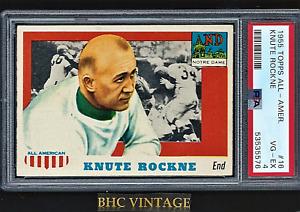 1955 Topps All-American Knute Rockne #16 PSA 4 VG-EX