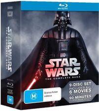 Star Wars: The Complete Saga (Blu-ray, 2015, 9-Disc Set)