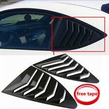 Louver Quarter Window Panel Carbon Look Fit Scion FRS Subaru BRZ Toyota 86 GT86