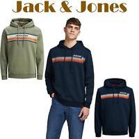 Jack And Jones Hoodie Men's Sweatshirts Loopback Logo Hoody Men Sweat Hood S-2XL