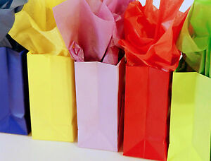 "400/PK TISSUE PAPER 20X26"" ( SIZE#2 ) solid color tissue paper gift wrap supply"