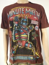 Minute Mirth Shirt.neu.Trash War Robot Hero Art Vintage Design Streetwear