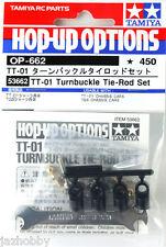 Tamiya 53662 RC TT01 Turnbuckle Tie Rod Set TT01E/TT01D Car Hop Up Parts OP662