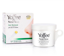 Yoffee Nose Wax 50g - Nasal Hair Removal with Natural Beeswax Formula. Safe, Qui