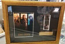 LOTR Return of the King Series 2 Original Film Cell #825/1000 Framed Rye By Post