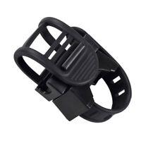 Bicycle Handlebar Bike Flashlight Holder Light Mount Clip Rotate-Support Clamp