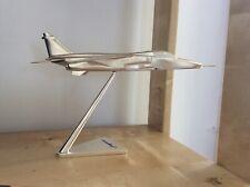 Vintage Sepecat  Jaguar T.4 XX838 RAF 16 Sqn Silver Toned Model Aeroplane