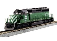 Kato 37-6605 HO Scale EMD SD40-2 Mid BN #8023 DCC Ready Locomotive