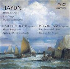 HAYDN: ARIANNA A NAXOS; SCOTS SONGS; ENGLISH CANZONETTAS NEW CD