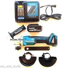 Makita XAG03 18V Brushless Angle Grinder, 1) BL1830 Battery, Charger 18 Volt LXT