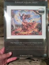 gold collection cross stitch kit-Fall Fairy