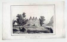 HAWAII-Kai ROUA-Kailua-ETHNOLOGIE-Acier Pli 1836