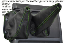 GREEN STITCHING FITS NISSAN PATROL Y60 LEATHER GEAR GAITER SHIFT BOOT ONLY