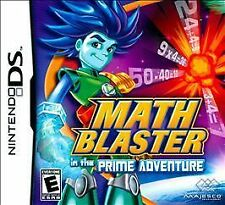 Nintendo DS Math Blaster in the Prime Adventure VideoGames