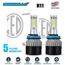IRONWALLS H11 H9 H8 1320W 198000LM LED Headlight Conversion Fog Bulbs 6000K HID
