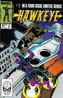 Hawkeye Comic Issue 2 Bronze Age First Print 1983 Gruenwald Breeding Rosen