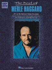 The Best of Merle Haggard Sheet Music Easy Guitar NEW 000702136