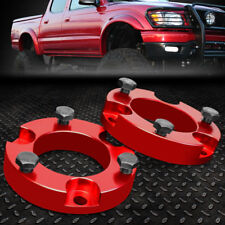 "FOR 2005-2018 TOYOTA TACOMA/FJ CRUISER RED 2"" FRONT SPACERS LEVELING LIFT KIT"