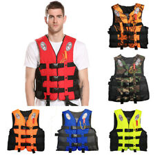 Fishing Life Jacket Water Sports Adult Kid Kayak Boating Swimming Buoyancy Vest