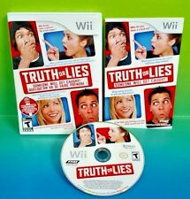 Truth or Lies - Nintendo Wii /Wii U Complete Game Rare Fun Family Game no mic