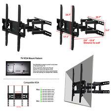 Ollieroo Full Motion TV Wall Mount VESA Bracket Tilt Swivel 26 32 40 42 46 50 55