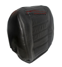 2006 - Hummer H2 SUT SUV - Driver Side Bottom Leather Seat Cover - Black