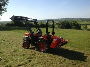 Del Morino 132 Flail topper for compact tractor