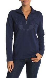 NEW Tommy Bahama $135 L/S Embroidered Jen & Terry Pullover TW216855 Women's, XS