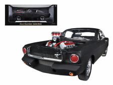 1965 SHELBY MUSTANG GT350R MATT BLACK RACE ENGINE 1:18 SHELBY COLLECTIBLES SC178