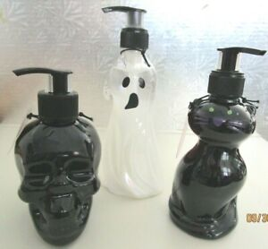DECORATIVE ..REFILLABLE..HAND SOAP CONTAINER..3 TO CHOOSE FROM