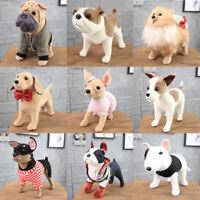 "12"" Plush Dog Doll Soft Toy Stuffed Animal Cute Bulldog Baby Kids Toys Gift Pet"