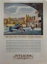 """1932 Pitcairn Autogiro """"This Year"""" advertisement"""
