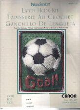 GOAL!  Soccer Ball Latch Hook Kit  ~ CARON~  UNOPENED