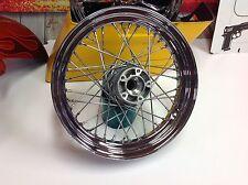 "00-10 Harley Touring Softail 3/4 & 1"" Axle Bearings 40 Spoke Wheel Front Rim"