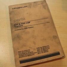 CAT CATERPILLAR D3C LPG Tractor Dozer Crawler Parts Manual Book Catalog spare