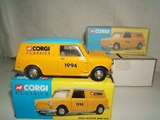 """CORGI MODEL  No.    MORRIS MINI  """"1994 """" COLLECTORS CLUB  VAN    MIB"""