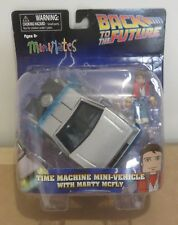 Back to the Future Mini Mates Time Machine Mini-Vehicle with Marty McFly - New