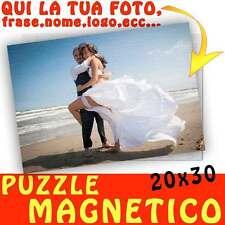 Puzzle Magnetico formato A4 20x30 personalizzato con foto Magnete - calamita Spo