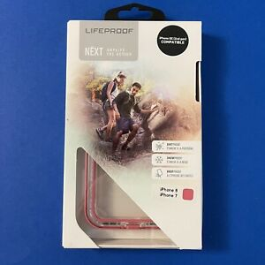 Lifeproof NEXT Series Case for iPhone 8/7/SE—Clear/Transparent & Pink