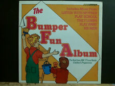 BUMPER FUN ALBUM  BBC TV and Radio Children's Programmes   LP   Lovely copy!