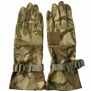 MTP CAMO WARM WEATHER LEATHER COMBAT GLOVES  Sizes  9