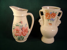 Vintage Pair Royal Copley Floral Vases  1940's - 50's  Marked on Bottom!!