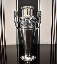 More details for wmf art nouveau silver plated amphora vase,britannia metal ,26.5cm signed c1903