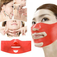 Ultra-thin Chin Cheek Slim Lift Up Anti Wrinkle Mask Strap V Face Line Belt
