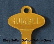 VINTAGE HUMBLE OIL CO KEY BLANK FORD LINCOLN MERCURY EDSEL 1958-1966 1127DU GOLD