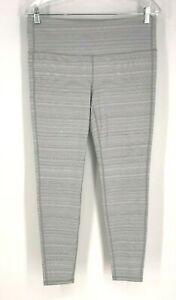 ATHLETA - WOMEN'S SIZE Large Petite - GRAY YOGA FITNESS PANTS