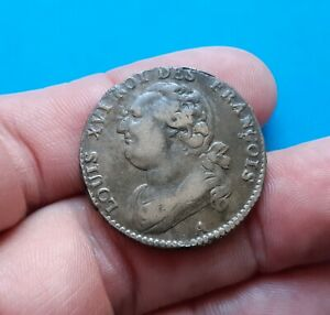Superbe 12 Deniers Louis XVI 1792 A