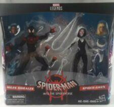 Marvel Legends Spider-Man into the Spiderverse Miles Morales & Gwen 2-Pak Figure