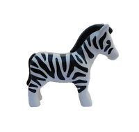 Zebra Playmobil 123 Tier Zoo schwarz weiß Streifen Savanne Tiere Arche Noah Neu
