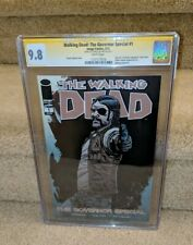 Walking Dead Comic Governor Special 1 CGC SS 9.8 signed by Charlie Adlard